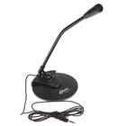Микрофон RITMIX RDM-115, на подставке, разъем 3.5мм, кабель 1.5м