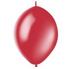 """Шар латексный 12"""", линколун, декоратор, набор 50 шт., цвет ярко-красный"""