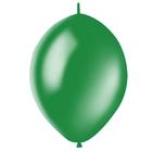 """Шар латексный 12"""", линколун, декоратор, набор 50 шт., цвет зелёный"""