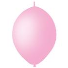 """Шар латексный 12"""", линколун, декоратор, набор 50 шт., цвет розовый"""