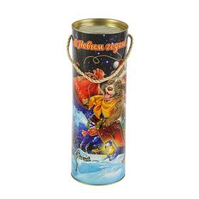 Подарочная коробка, тубус 'В Небеса'', 12 х 34,5 см Ош