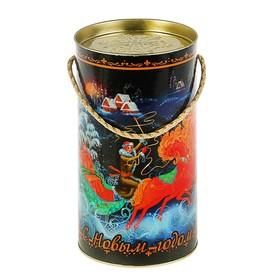 Подарочная коробка, тубус 'Раздолье', 12 х 22 см Ош