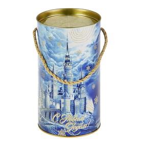 Подарочная коробка, тубус 'Хрустальная', 12 х 22 см Ош