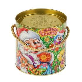 Подарочная коробка, тубус 'Зверята', 12 х 12 см Ош