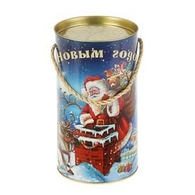 Подарочная коробка, тубус 'Рождественская ночь', 12 х 22 см Ош