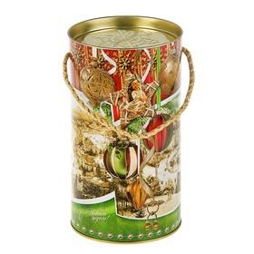 Подарочная коробка, тубус 'Новогодние шары', 12 х 22 см Ош