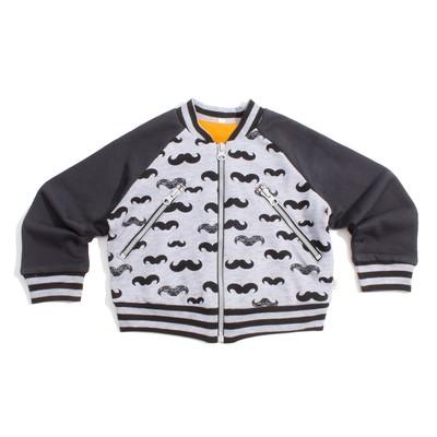 """Куртка для мальчика """"Barba"""", рост 110 см, цвет серый КР-148"""