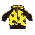 """Куртка для девочки """"Black_cat"""", рост 104 см, цвет чёрный/жёлтый КР-136"""