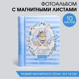 """Фотоальбом """"Лучший малыш на свете"""", 10 магнитных листов размером 12 х 18,7 см в Донецке"""