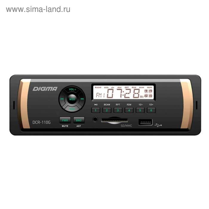 Автомагнитола Digma DCR-110G