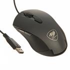 Мышь Cougar MINOS X3, игровая, проводная, оптическая, 3200dpi, подсветка, USB