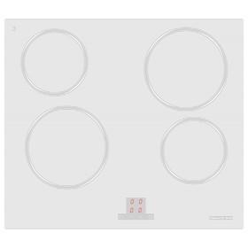 Варочная поверхность Zigmund & Shtain CNS 027.60 WX, 4 конфорки, электрическая, белая