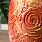"""Ваза напольная """"Элегия"""" барокко, акрил, 68 см, керамика - фото 906124"""