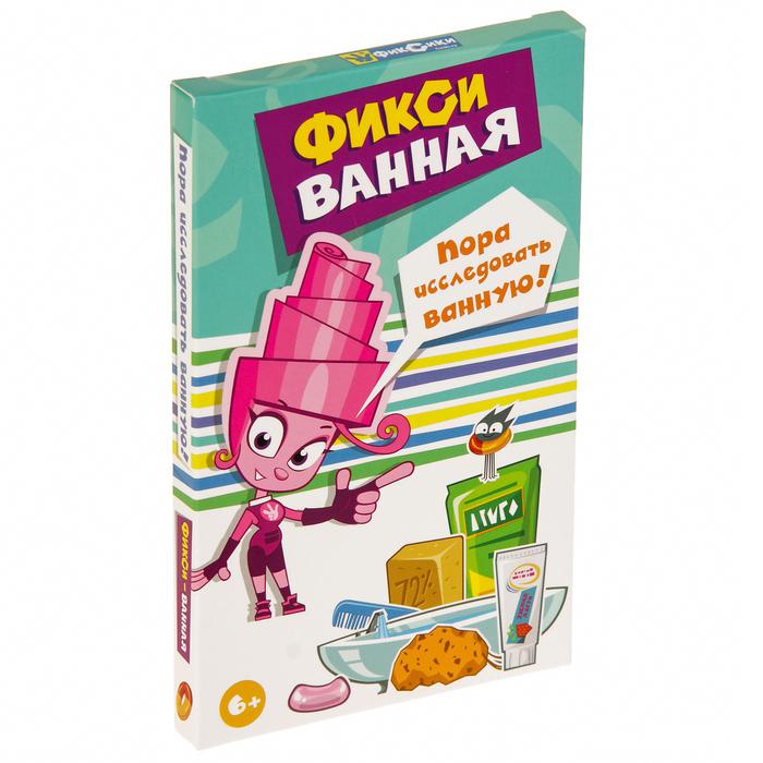 """Карточная игра """"Фикси-ванная"""" MAG05472"""