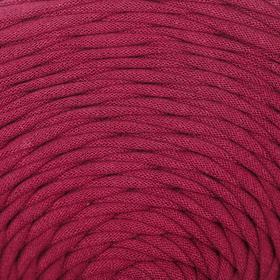 Пряжа трикотажная широкая 100м/320±15гр, ширина нити 7-9 мм (марсала)  МИКС