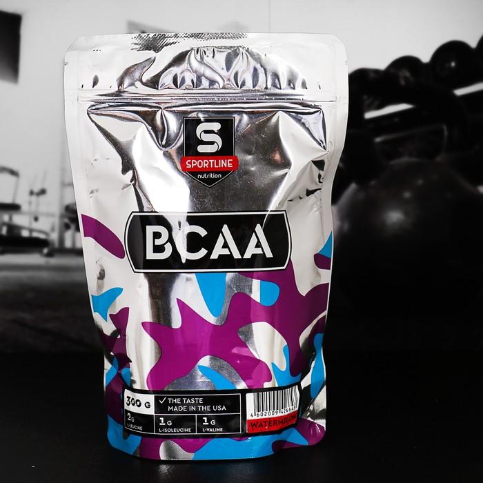 Аминокислоты SportLine BCAA 2:1:1, арбуз, 300 г