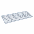 LuazON keyboard, wireless, membrane, bluetooth, white