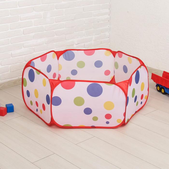 """Сухой бассейн для шариков """"Шарики"""", размер: 100/110, h=40 см"""