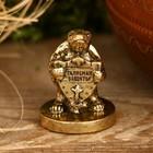"Figurine turtle ""Talisman of protection"", 2.5 x 3.5 cm"