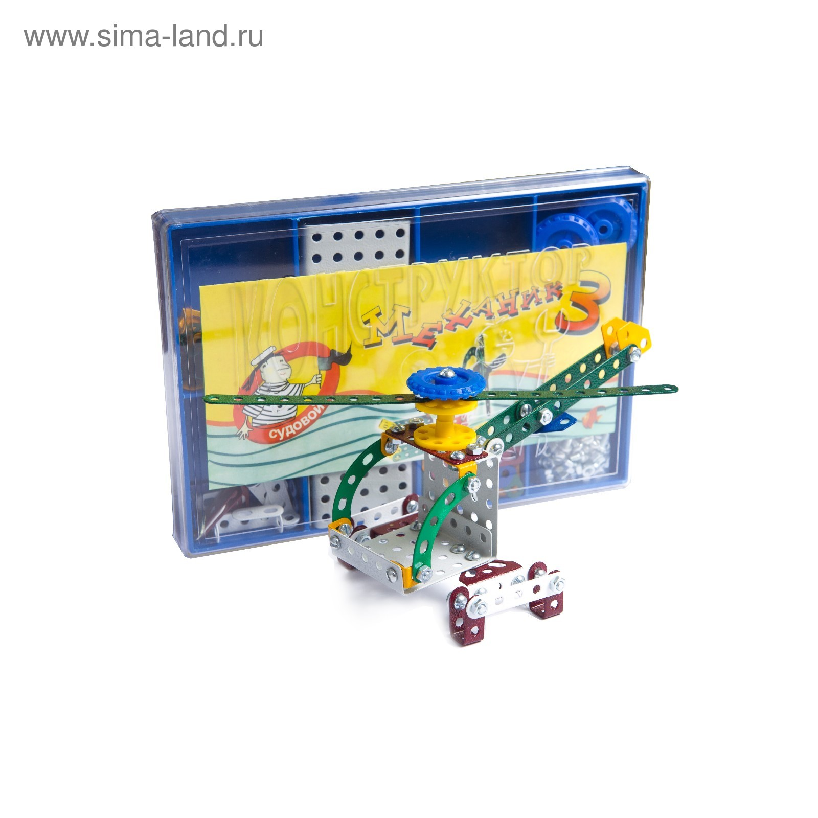 Металлический конструктор «Механик-3», 200 деталей (2859104 ... 1279856067c