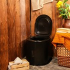 Туалет дачный, h = 39 см, без дна, с креплением к полу, «Эконом»