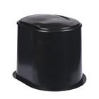 """Туалет дачный, h=39 см, без дна, с креплением к полу, """"Эконом"""""""