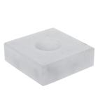 Подставка белая, 5 х 5 х 2 см