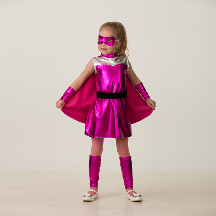 Карнавальный костюм «Блёстка», размер 30, рост 116 см - фото 906174