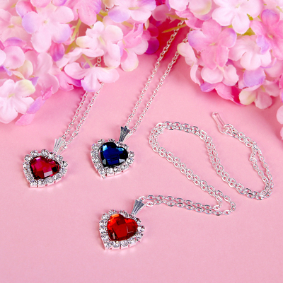 "Pendant ""Vibracula"" heart, love, MIX color"