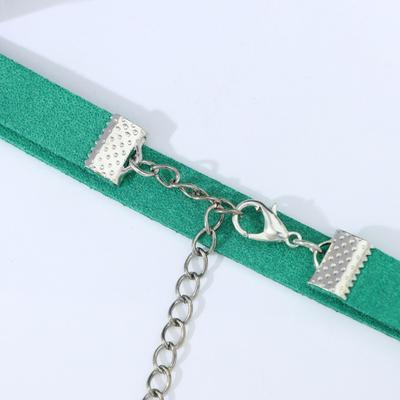 Chalker Amelie with sequins color green in silver