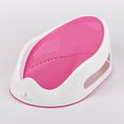 Горка для купания силиконовая, цвет розовый