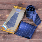 """Подарочный набор: галстук и платок """"Государственная служба"""""""