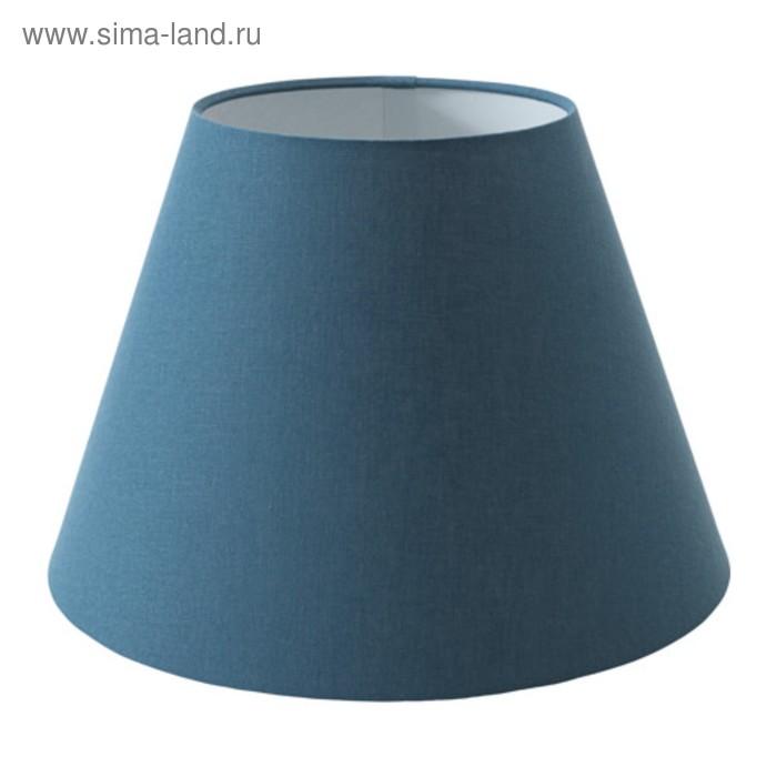 Абажур OLLSTA синий 34x34x23см