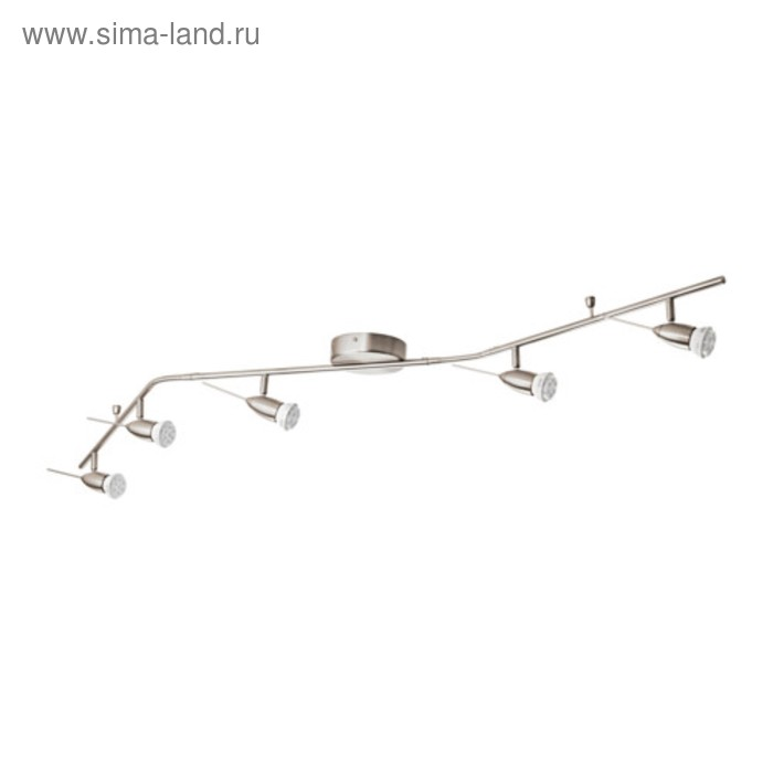 Люстра спот HUSINGE 5x35Вт GU10 никель 160см