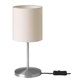 Настольная лампа INGARED 1x40Вт Е14 хром 13x13x30см