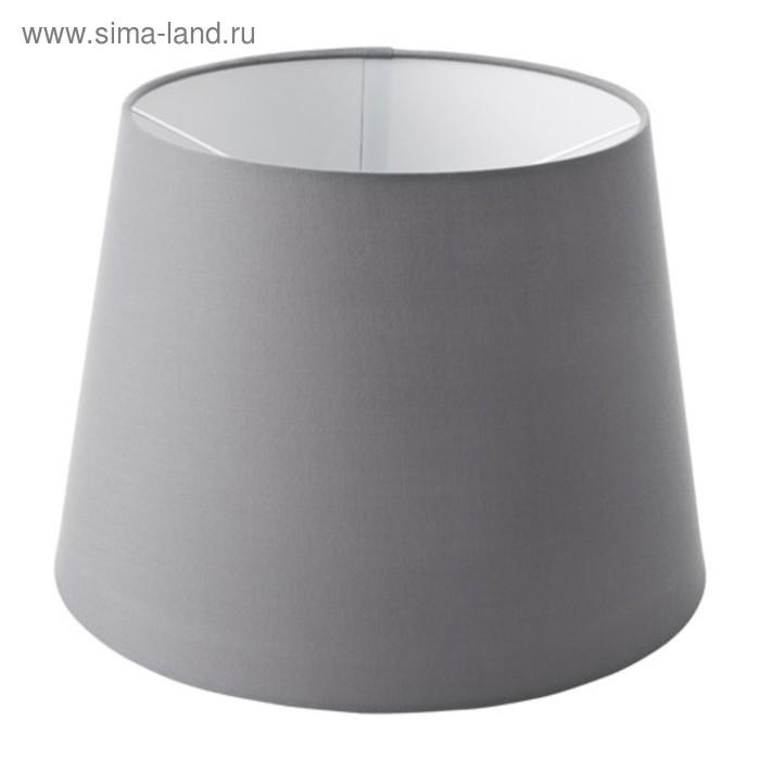 Абажур JARA серый 33x33x24см
