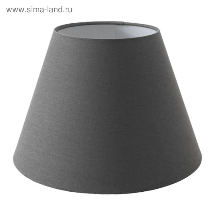 Абажур OLLSTA серый 34x34x23см