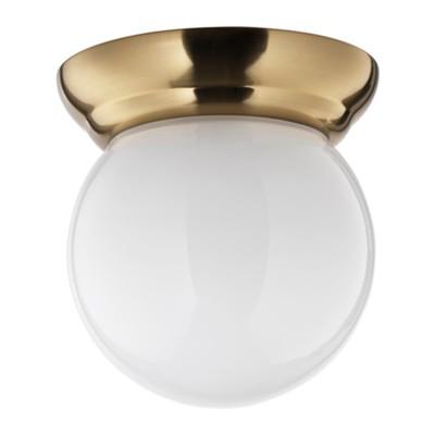 Светильник настенно потолочный LILLHOLMEN 1x60Вт Е27 медь 14x14x17см