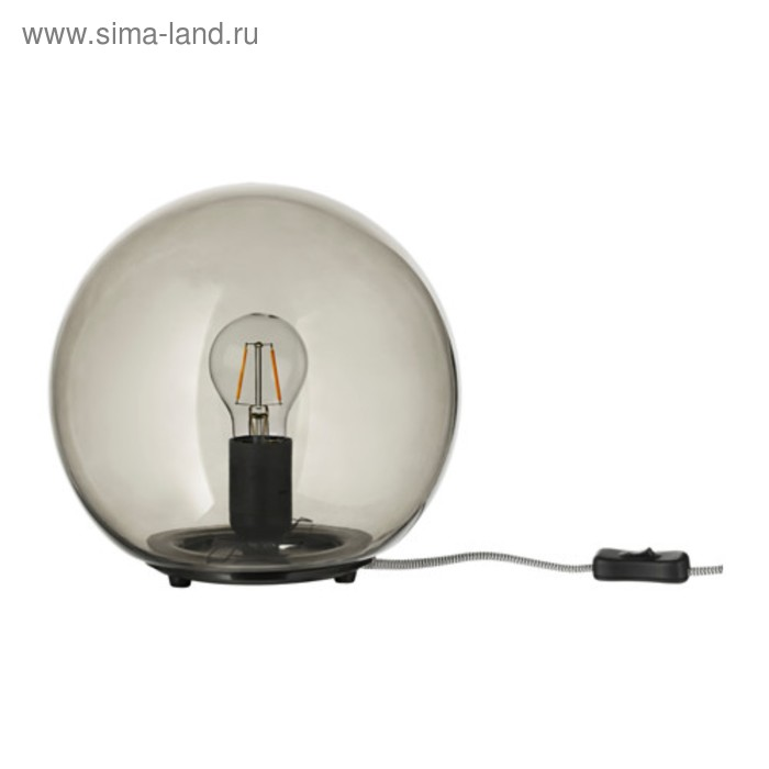 Настольная лампа FADO 1x75Вт Е27 серый 25x25x24см