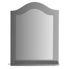 Зеркало настенное, двухслойное,  с полочкой, 600×800 мм, с креплением