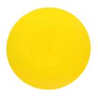 Тарелка d=19 см, цвет жёлтый