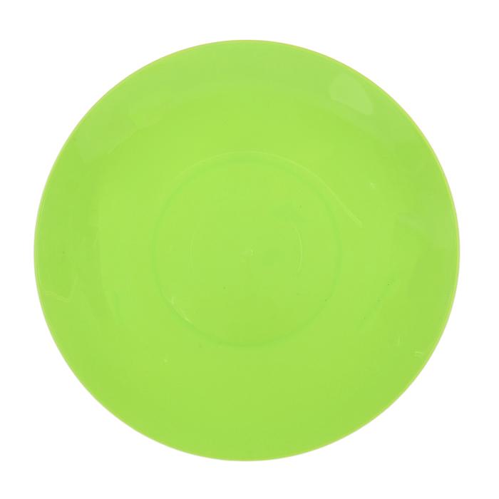 Тарелка 19 см, цвет салатовый