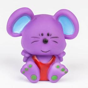 Резиновая игрушка для игры в ванной «Мышонок», цвет МИКС
