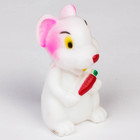 Игрушка для ванны «Мышка с морковкой»