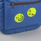 """Reflective sticker """"Smiley"""", d = 5 cm, color yellow"""