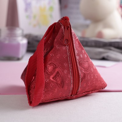 """Purse baby """"Butterfly"""", the zipper, color red"""