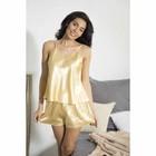 """Комплект домашний однотонный """"Passion"""" (майка, шорты), размер 42-44 (L), цвет золото"""