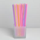 Набор одноразовых трубочек для напитков Grifon, 21 см, 100 шт/уп