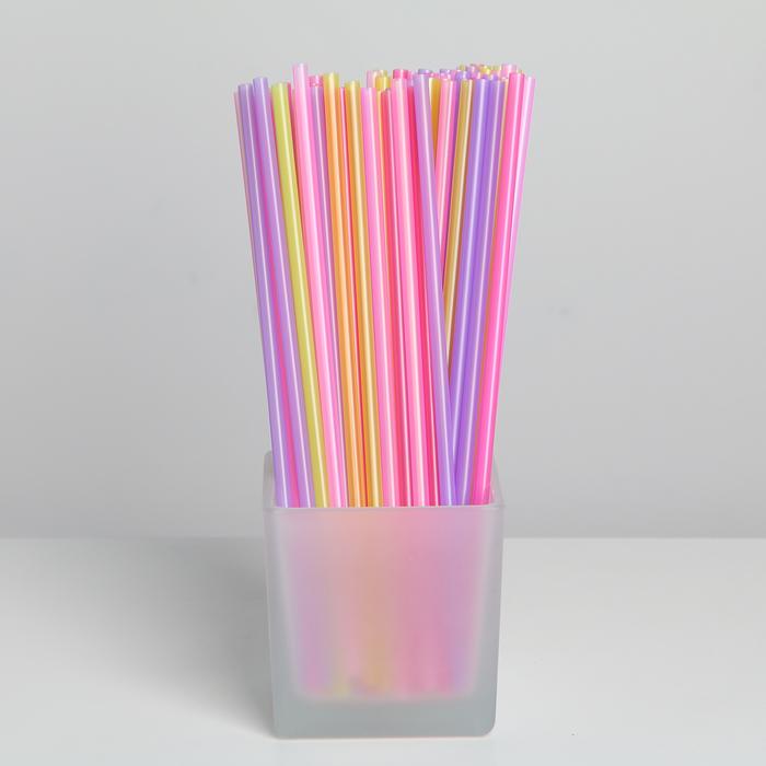 Набор трубочек для напитков 21 см Grifon, 100 шт