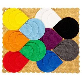 Развивающая игра «Разноцветные лепестки Ларчик», ковролин
